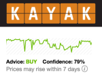 Kayak Price Predictor